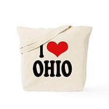 I Love Ohio Tote Bag