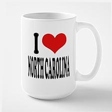 I Love North Carolina Mug