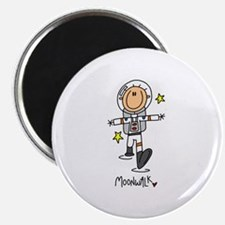 "Astronaut Moonwalk 2.25"" Magnet (10 pack)"