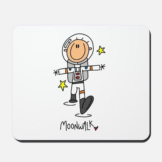 Astronaut Moonwalk Mousepad