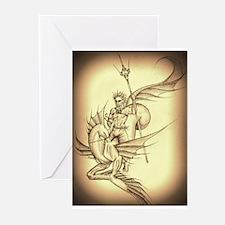 Cute Greek gods Greeting Cards (Pk of 20)