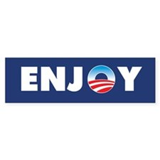 Obama Enjoy Bumper Sticker (10 pk)