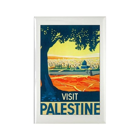 Palestine Travel Rectangle Magnet (10 pack)