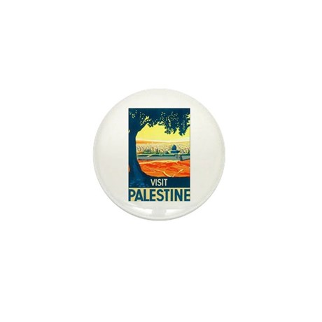 Palestine Travel Mini Button (10 pack)