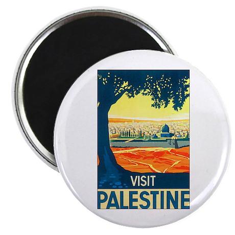 Palestine Travel Magnet