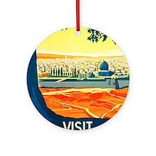 Palestine Travel Keepsake (Round)
