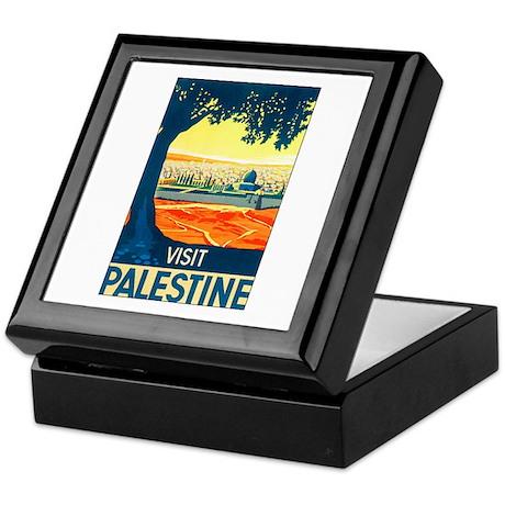 Palestine Travel Keepsake Box