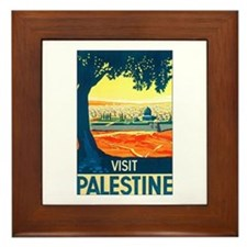 Palestine Travel Framed Tile