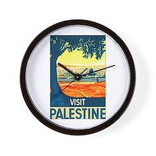 Palestine Travel Wall Clock