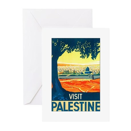 Palestine Travel Greeting Cards (Pk of 10)
