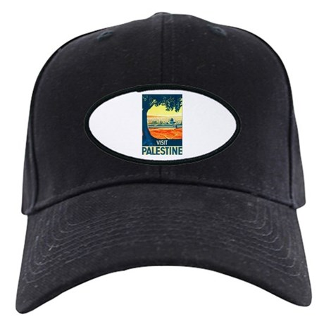 Palestine Travel Black Cap