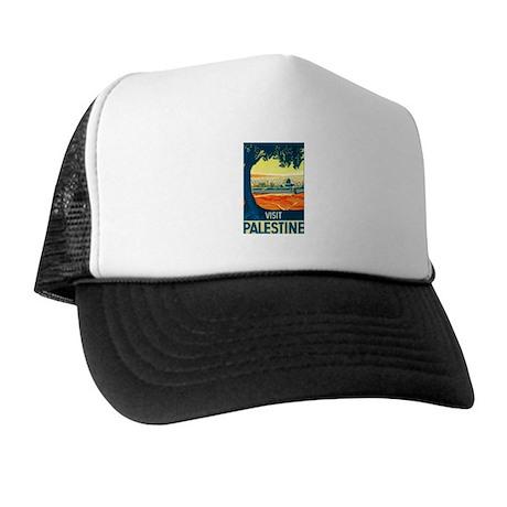 Palestine Travel Trucker Hat