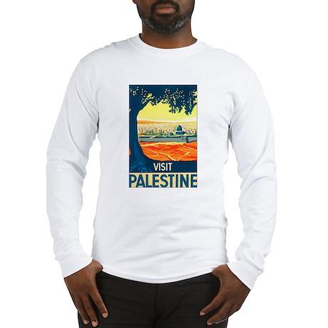 Palestine Travel Long Sleeve T-Shirt
