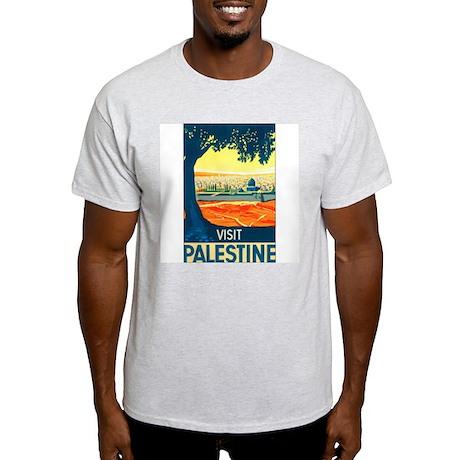 Palestine Travel Ash Grey T-Shirt