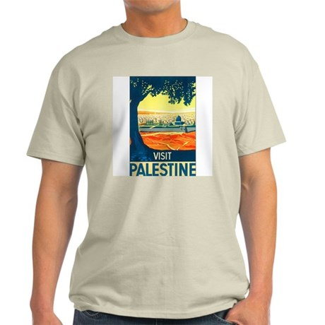 Palestine Travel Ash Grey T-Shirt