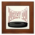 Hockey Dad Framed Tile