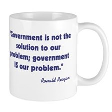 Government not the solution Mug