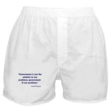 Government not the solution Boxer Shorts