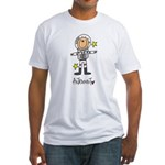 Astronaut Fitted T-Shirt