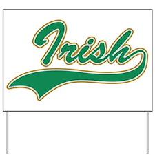 IRISH LOGO Yard Sign