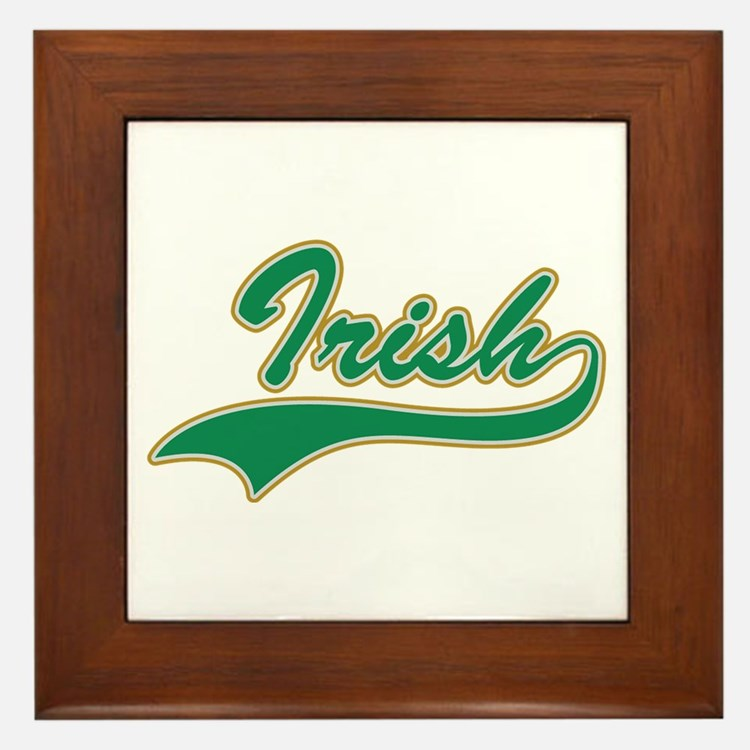 IRISH LOGO Framed Tile