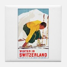 Switzerland Travel Tile Coaster