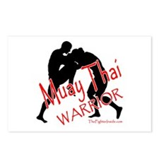 Muay Thai Warrior Postcards (Package of 8)