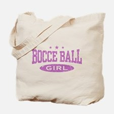 Bocce Ball Girl Tote Bag