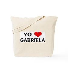 Amo (i love) Gabriela Tote Bag