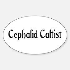 Cephalid Cultist Oval Decal
