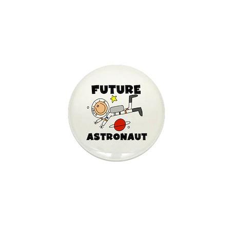 Male Future Astronaut Mini Button (100 pack)
