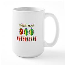 911 Dispatcher Christmas Mug