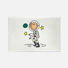 Space Exploration Rectangle Magnet