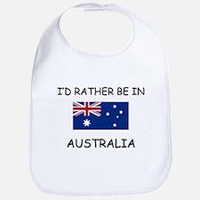 I'd rather be in Australia Bib