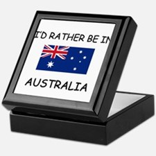 I'd rather be in Australia Keepsake Box