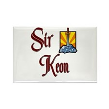 Sir Keon Rectangle Magnet