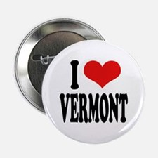 "I Love Vermont 2.25"" Button"