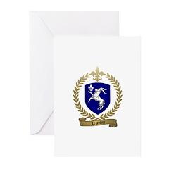 LEGENDRE Family Crest Greeting Cards (Pk of 10