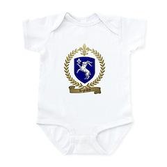 LEGENDRE Family Crest Infant Creeper