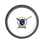 LEGENDRE Family Crest Wall Clock