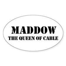 Maddow Oval Decal