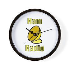 Ham Radio Wall Clock