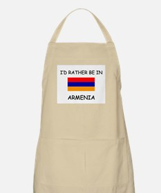 I'd rather be in Armenia BBQ Apron
