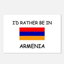 I'd rather be in Armenia Postcards (Package of 8)