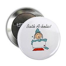 """Bath-a-holic 2.25"""" Button (10 pack)"""