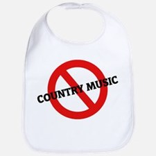 Anti Country Music Bib