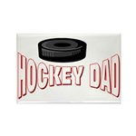 Hockey Dad Rectangle Magnet (100 pack)