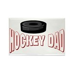 Hockey Dad Rectangle Magnet (10 pack)