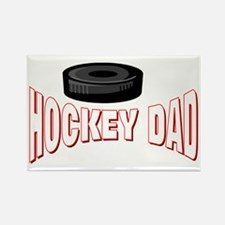 Hockey Dad Rectangle Magnet