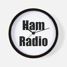 Ham Radio (bold) Wall Clock